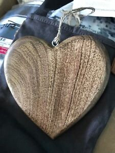 Wooden heart by Thirty-One $10