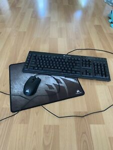 gaming keyboard mouse and mouse pad