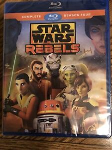 BLU-RAY NEW Star Wars Rebel Complete Season Four