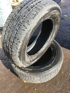 215/65R16 FIRESTONE FR 710 - A Pair (2) of used tires
