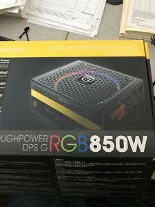 Thermaltake 850 Gold power supply  high end