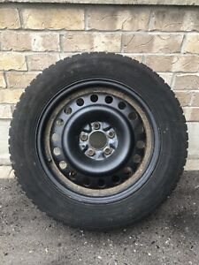 4 Snow Tires With Rims 225/60R17 99T
