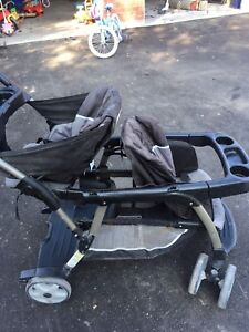 Graco classic connect ready to grow stroller