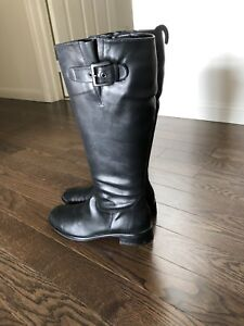 ECCO women knee high boots Sz38