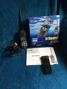 Icom 5W VHF Marine Radio IC-M34
