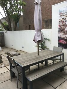 IKEA Falster Outdoor Dining Table Chair Set