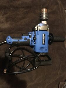 "Mastercraft 5/8"" low gear corded drill"