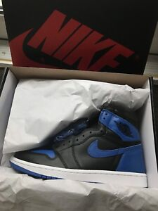 "ad18e9a4b4214a Air Jordan 1 ""Royal""   Size 10   DS"