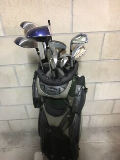 Left hand golf clubs