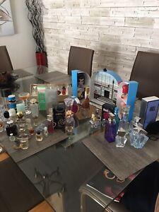 Collection bouteille parfum (70 bouteilles)