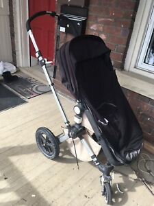 Bugaboo chameleon with footmuff and raincover