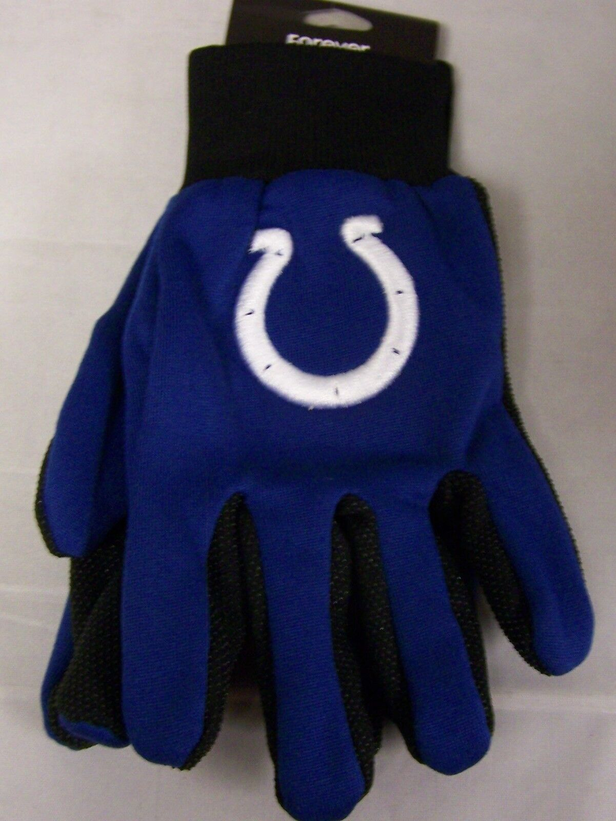 Home & Garden Sports Mem, Cards & Fan Shop Indianapolis Colts Nfl White Logo Two Tone Utility Gloves Easy To Use