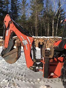 Wood bh90x backhoe