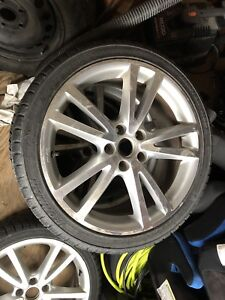 Volkswagen rims with winter tires
