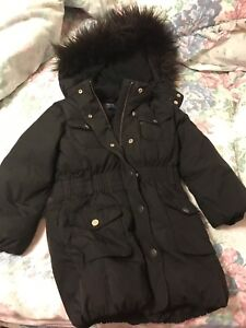 Gap long coat & Gymboree dots jacket