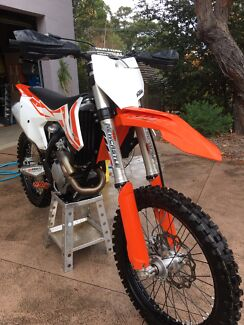 2017 KTM 350 SXF Valley Heights Blue Mountains Preview