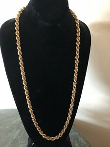 14kt real gold necklace