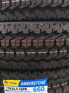 11R22.5 LRH 16 ply. Drive and Trailer Tires