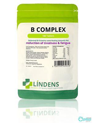 Lindens Vitamin B Komplex Tabletten (100er Pack) ()