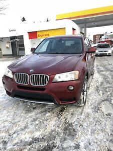 BMW X3 2011 rare 6 cylindre