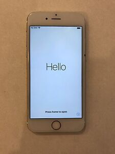 I phone 6s 16gig gold  unlocked to all networks Gwelup Stirling Area Preview
