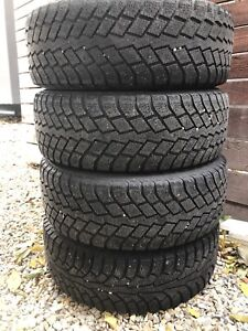 4 - Nokian Winter Tires and Rims 5 x 114.3 or 5 x 110