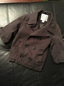 Baby Boys black dress jacket/ manteau pour bébé garçon