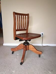 Antique chair from HMCS Ship Ontario