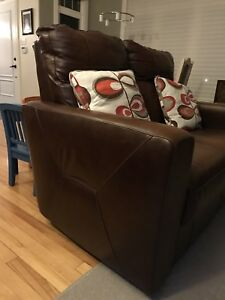 Leather Loveseat - Rothesay - $250