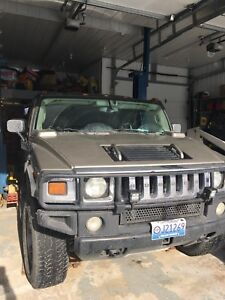 2003 HUMMER H2 Wagon Safetied