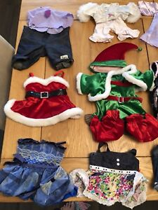 Huge lot of teddy bear clothes