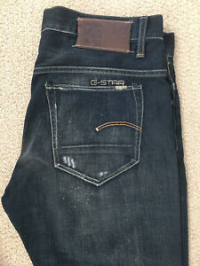New G-Star 3301 Slim Jeans 33x32 (tags included)