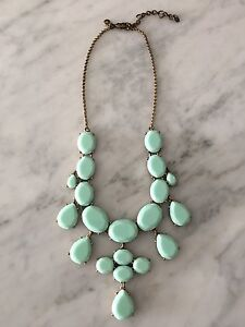 J CREW STATEMENT NECKLACE IN TURQUOISE-NEW!