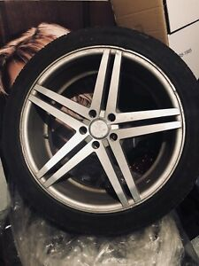 Summer Tires with 20 inch Rims