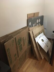 FREE moving boxes and supplies