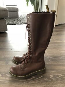 Dr. Martens 20 eye brown boots size 5