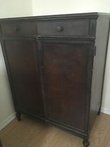 Two antique dressers for sale