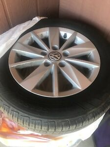 "(4) 15"" tire & rims in great condition"