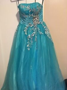 Prom dress (Teal/light blue)