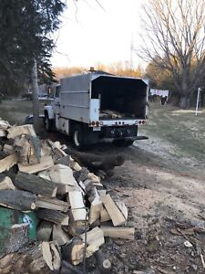 Forestry Chipper Truck
