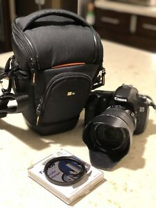 Canon EOS 60D with EFS 15-85mm IS USM lens