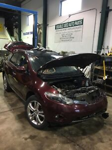 Parting out 2009 Nissan Murano le