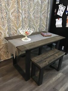 Kitchen table with bench!