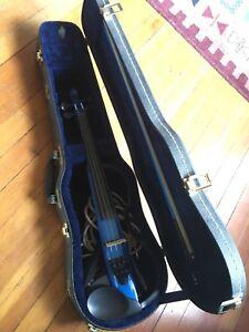Yamaha SV 120 Royal Blue silent electric violin