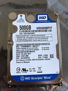 500GB Laptop Hard Drive