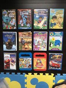 12 Children's DVDs (Cars 1, Diego, Gruffalo, Bob the builder..)