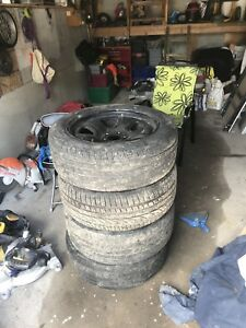 SET OF 4  18in Rims and Tires for Sale