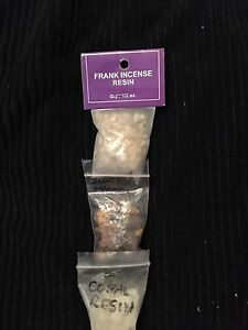 Witchcraft- Frank Incense Resin, Sweet Myrrh and Copal Resin