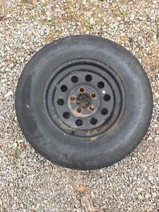 Trailer spare tire 205/75/R15