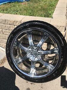 1x mag + pneus 305/35r24